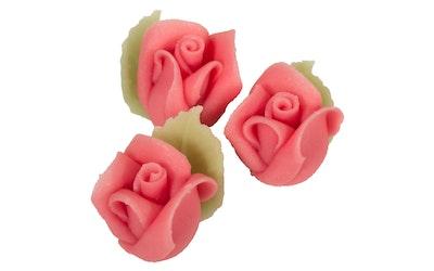 Sallinen Marsipaan ruusu rosa 3kpl