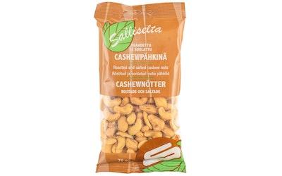 Sallinen Cashewpähkinä paahdettu ja suolattu 75g