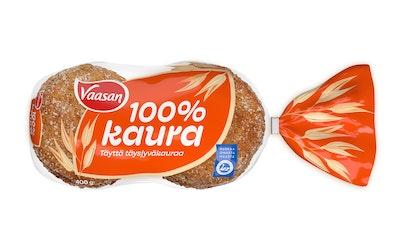 VAASAN 100 % Kaura 400 g kaurapalaleipä