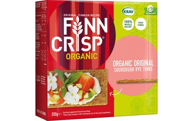 FINN CRISP Organic 200g hapankorppu