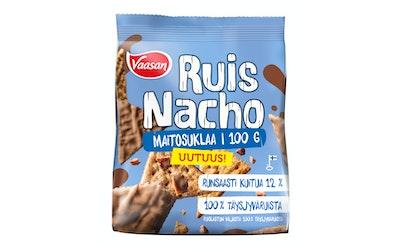 Vaasan ruisnacho maitosuklaa snack 100g