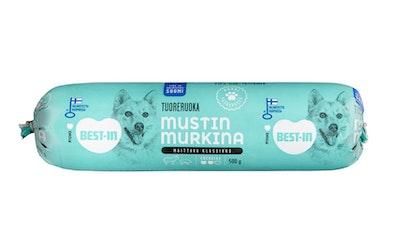 Best-In Mustin Murkina 500 g koiranmakkara