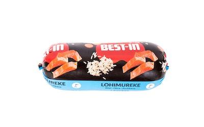 Best-In lohimureke koiran tuoreruoka 1kg riisi-ohra-porkkana