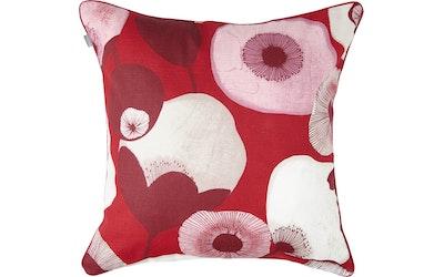Pentik Pastelli koristetyynynpäällinen punainen - kuva