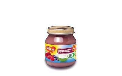 Muksu marjaisa hedelmäjogurttivalmiste 125g 5 kk
