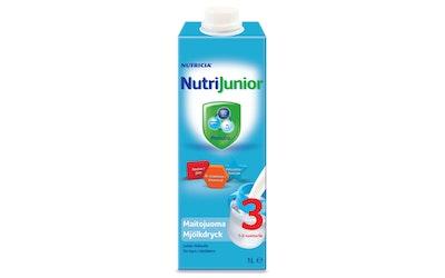 NutriJunior 3 maitojuoma 1l 1-3v