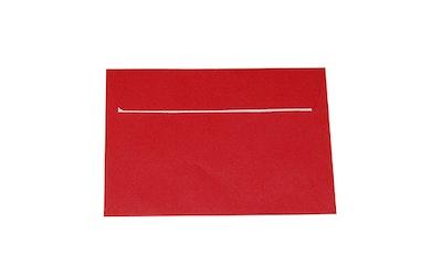 Tarrakuori C6 10 kpl / pss punainen