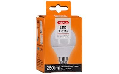 Pirkka led-lamppu 3,5W E14 mainoslamppu opaali