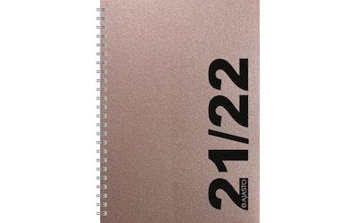 Kalenteri Simple A5, ruusukulta - kuva