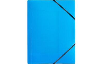 myhome kulmalukkokansio A4 sininen
