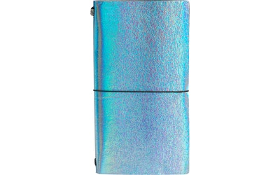 myhome muistikirja kuminauhalla sininen