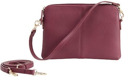 mywear pikkulaukku Eva viininpunainen