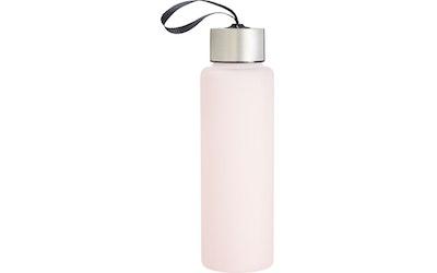myhome juomapullo lasi 0,7L  roosa