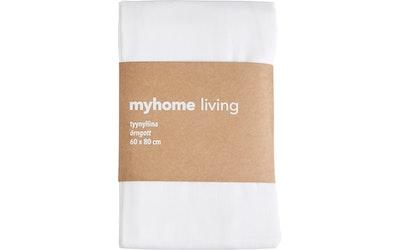 myhome tyynyliina 60 x 80 cm valkoinen