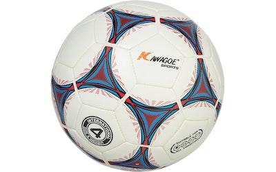 Kawagoe jalkapallo, koko 3, valkoinen kuvio - kuva