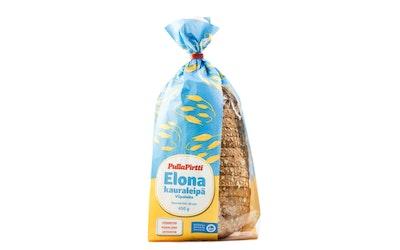 PullaPirtti Elona Kauraleipä 450g kuitupit lakton lisainton kauravehnäleipä