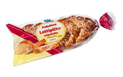 PullaPirtti Lettipitko viipaloitu 450g lakton vehnäpitko