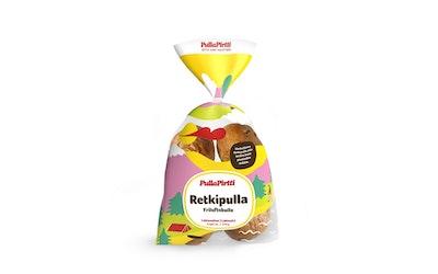 PullaPirtti Retkipulla 6/270g laktoositon täytteetön pulla