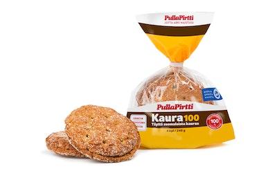 PullaPirtti Kaura100 4/240g halk lakton runskuit lisainton kaurapalaleipä