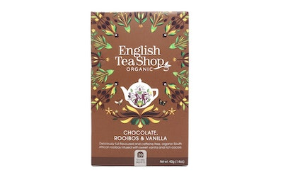 English Tea Shop rooibos 20ps chocolate vanilla luomu