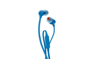 JBL T110 nappikuuloke sininen