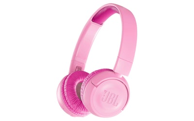 JBL JR300BT lasten Bluetooth-sankakuulokkeet pinkki - kuva
