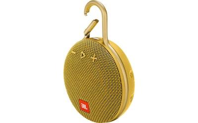 JBL Clip 3 Bluetooth-kaiutin keltainen