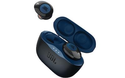 JBL T120TWS Bluetooth-nappikuuloke sininen - kuva