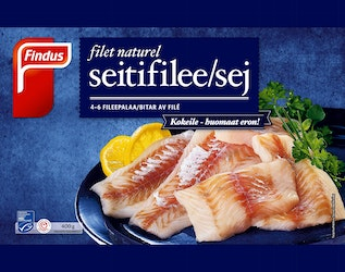 Findus Filet Naturel Seiti 400g MSC