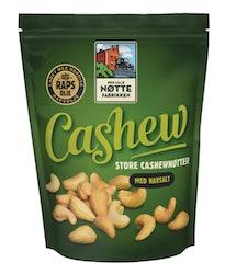 Den lille nøttefabrikken paahdetut cashewpähkinät 280g merisuola