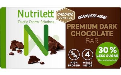 Nutrilett Premium Dark Chocolate ateriankorvikepatukka 4x60g