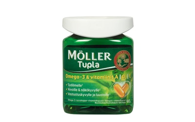 Möller Tupla omega 3 100kaps 90g