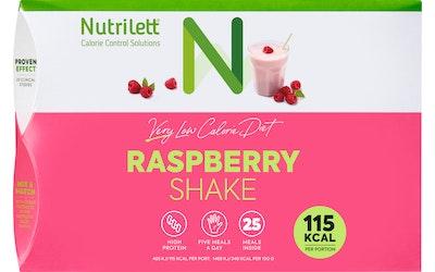 Nutrilett VLCD pirtelöjauhe 25x33g raspberry