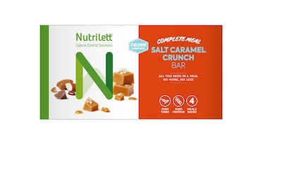 Nutrilett Salt Caramel Crunch bar 4x56g