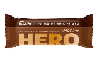 Maxim Protein Bar 57g Hero Triple Chocolate