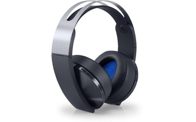 Sony PS4 Wireless Headset Platinum langaton pelikuuloke - kuva