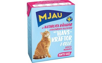 Mjau kissanruoka hyytelössä 380g merirapu