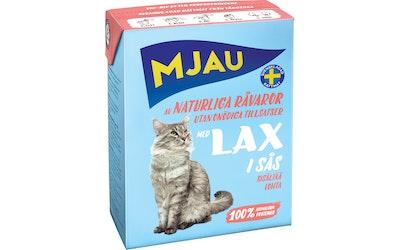 Mjau kissanruoka kastikkeessa 370g lohi
