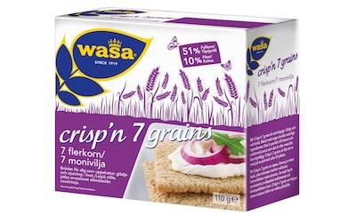 Wasa Crisp'n 7 Grains Näkkileipä 110g