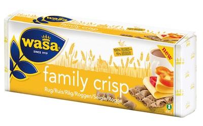 Wasa Family Crisp Ruisnäkkileipä 470g