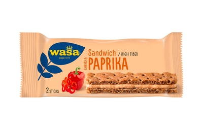 Wasa Sandwich 37g tuorejuusto/paprika