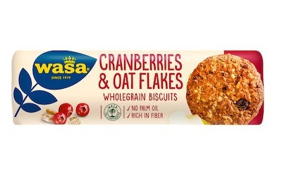 Wasa Cranberries & Oat Flakes biscuit 250g