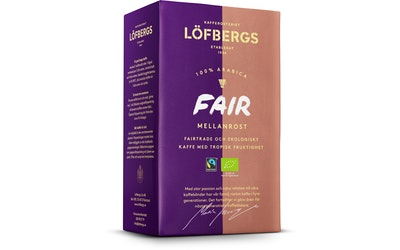 Löfbergs Lila Fair Mellanrost 450g luomu