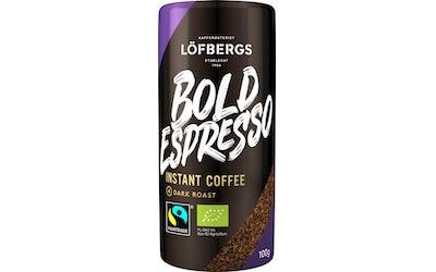 Löfbergs Bold Espresso Instant 100 g pikakahvi
