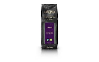 Löfbergs Sabroso Espresso Luomu Reilun kaupan 500g papukahvi