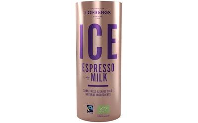 Löfbergs Ice Espresso 230ml luomu reilun kaupan