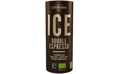 Löfbergs Ice Doulbe Espresso 230ml  luomu reilu kauppa