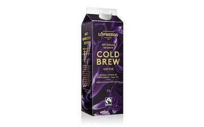 Löfbergs Cold Brew Antioquia kahvi 1l Reilu Kauppa