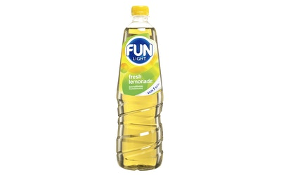 Fun Light juomatiiviste 1,0l fresh lemon