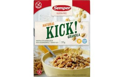 Semper Kick! Kauramuromysli Natural 375g gluteeniton